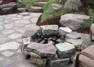 Pathways and Firepits
